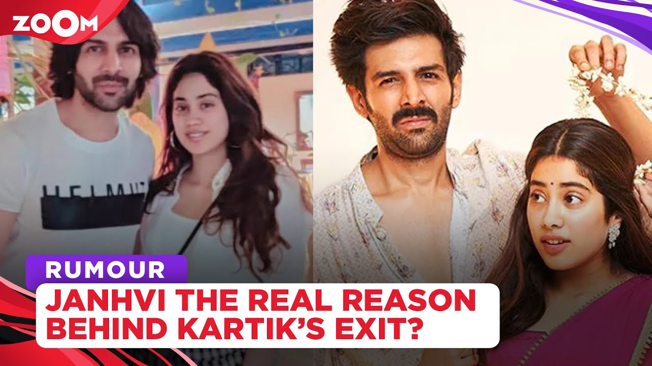 Did Kartik Aaryan's BREAKUP with rumoured girlfriend Janhvi Kapoor led to his ouster from Dostana 2?
