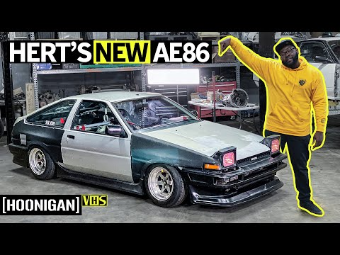 """This """"New"""" '85 Toyota Corolla Is The Best Worst Idea Ever: Hert Gets An AE86!"""