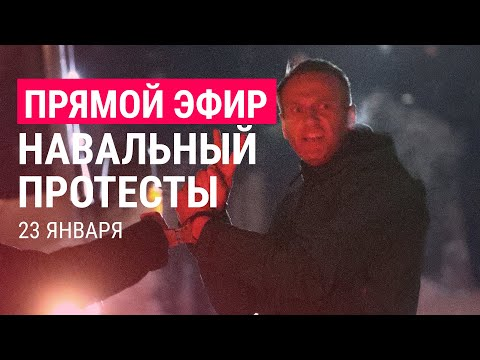 Навальный. Протесты | 23.01.21