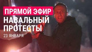 Навальный. Протесты   23.01.21