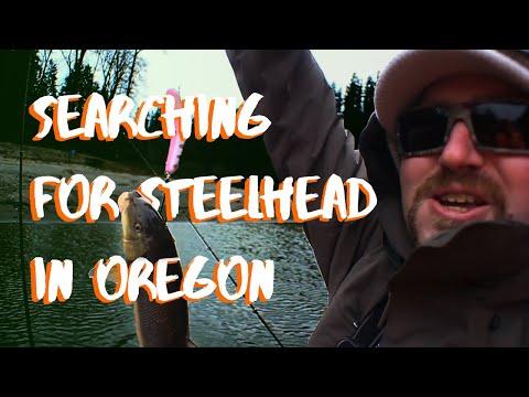 Fishing For Early Winter Steelhead | Oregon Sandy River