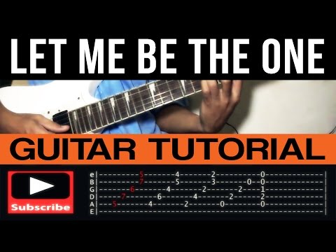Let Me Be The One Jimmy Bondoc Guitar Tutorial Complete (WITH TAB)