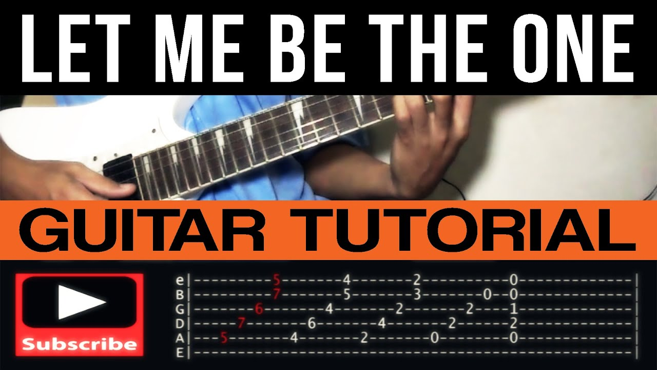 Let Me Be The One Jimmy Bondoc Guitar Tutorial Complete With Tab