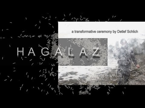 Hagalaz - A transformative ceremony ©by Detlef Schlich Author of Shamanism, Art and Digital Culture.