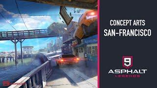 NEW CONCEPT ARTS SAN-FRANCISCO | ASPHALT 9