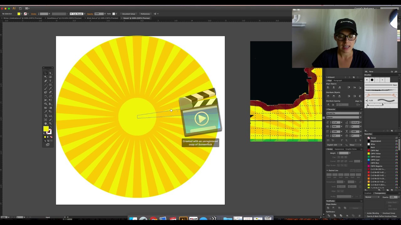 how to rotate page in adobe illustrator