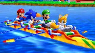 Mario & Sonic at the London 2012 Olympic Games (3DS) - All World Records Broken (In-Game)