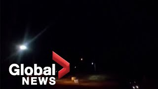 Video released by Iran State Media allegedly shows rockets being fired at U.S. Iraqi airbase