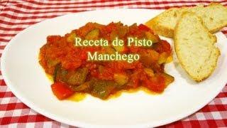 Cómo hacer Pisto Manchego receta tradicional