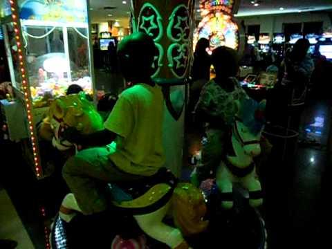My Children on a Merry-Go-Round @ Silverbird Galleria.AVI