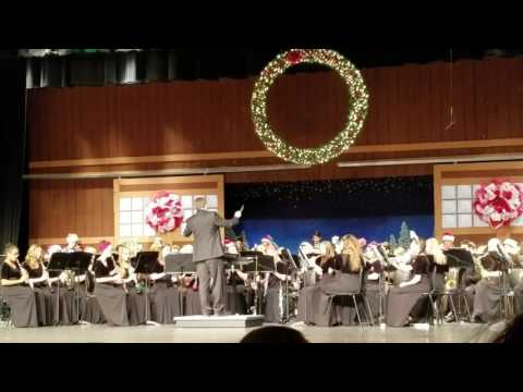 2016 Fishers HS Wind Ensemble Holiday Concert