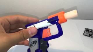 Transformer un Nerf en pistolet a bille - Tuto 001 ~ Yaniss !!