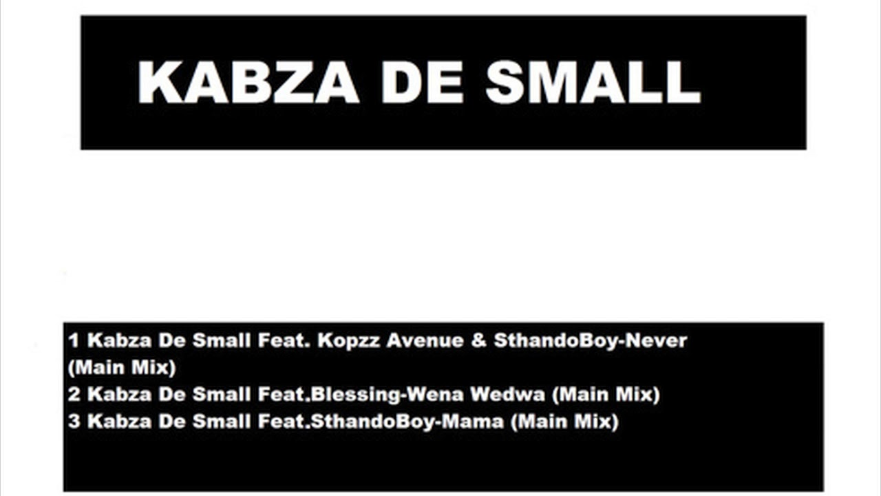 Kabza De Small - Wena Wedwa Official Song (Audio) - South Africa Music