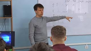 Александр Авдеев провел «Урок цифры» для учащихся педагогического лицея