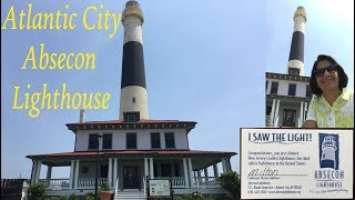 Atlantic City, Absecon Lighthouse, Atlantic City-The climb is worth the view from the top