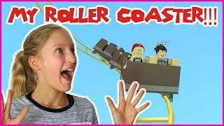 Building The Best ROLLER COASTER EVER!