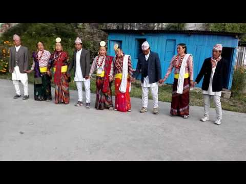 Limbu Dhan Nach with the folk song Palam