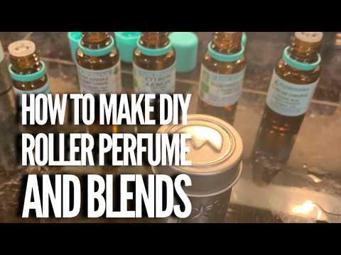 The Best little DIY perfume roller bottles- Diffuser giveaway!