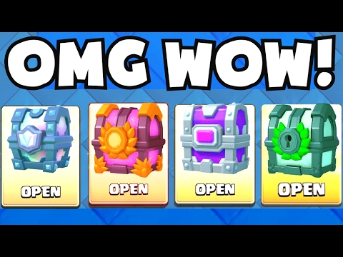 OPENING ALL OF THE BEST CHESTS | Clash Royale LEGENDARY CHEST / EPIC CHEST / CLAN CHEST UNLOCKING