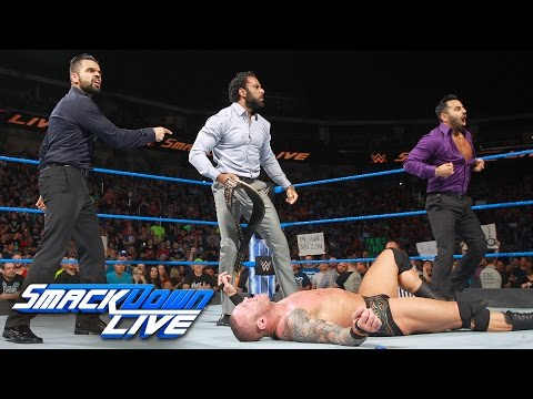 Thumbnail: Jinder Mahal steals the WWE Championship from Randy Orton: SmackDown LIVE, April 25, 2017