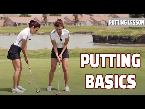 [Golf with Aimee] Aimee's golf lesson 002- Basics to Great Putting!