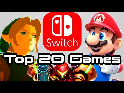 Top 20 Upcoming Nintendo Switch Games!