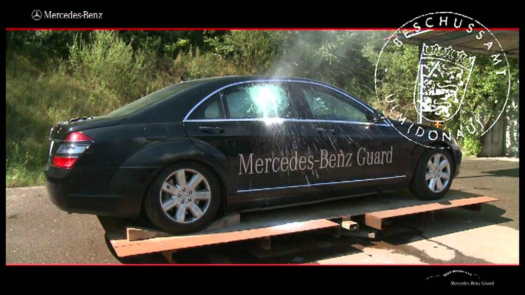 Mercedes benz guard youtube for Mercedes benz s guard for sale