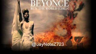 Beyonce - Run The World (Girls) (instrumental w hook lyrics & download link)