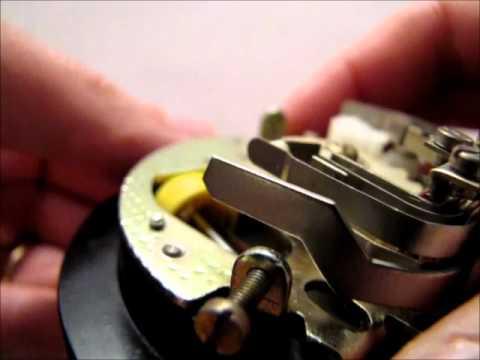 Telephone Rotary Dial Mechanism