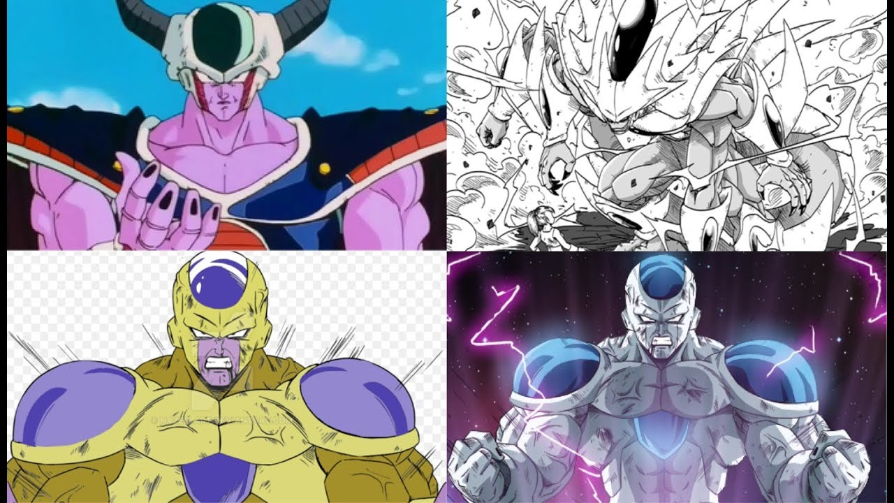 All Forms and Transformations of King Cold - YouTube
