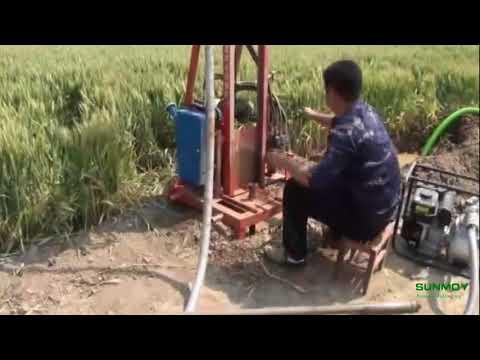 جهاز حفر بئر مياه وآبار محمولة