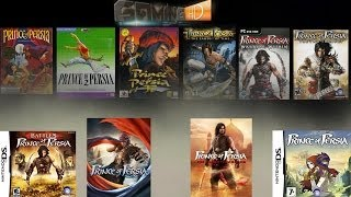 Prince of Persia Games History (1989-2013)