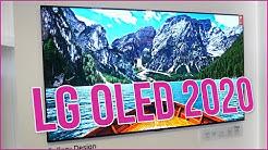 LG OLED TV 2020 (BX, CX, GX, WX, ZX, RX) vorgestellt