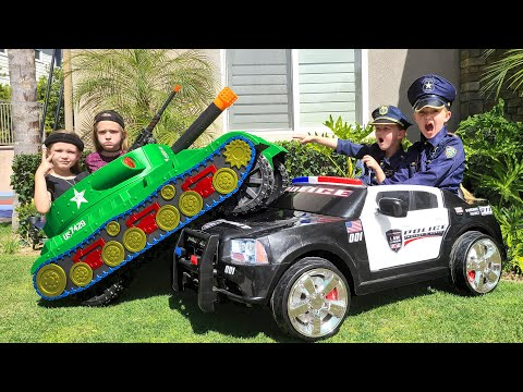 Girl Cops vs Tank!!! - Episode 6 |