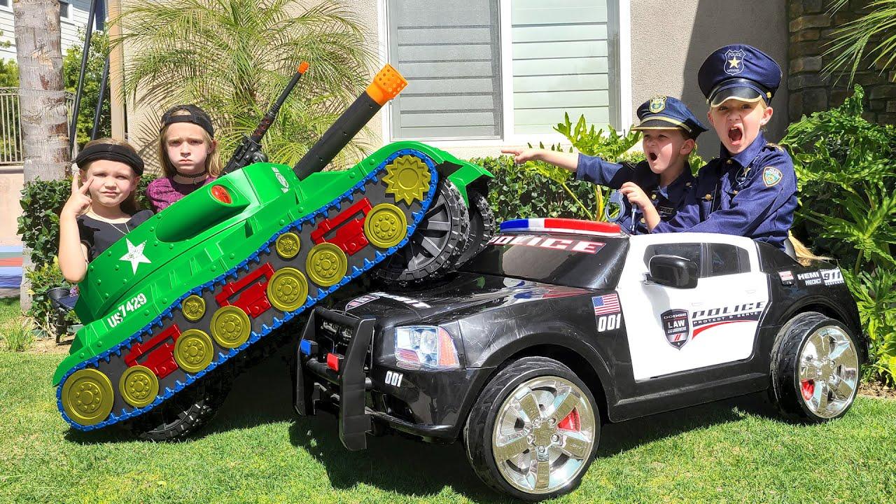 Girl Cops vs Tank!!! Episode 6