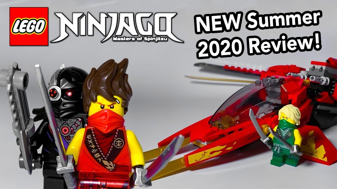 Lego Ninjago Legacy Kai Fighter Review New Summer 2020 Set 71704 Youtube