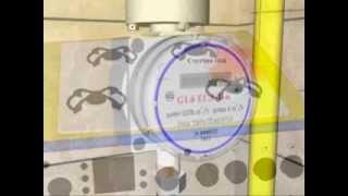 Монтаж электронных счетчиков газа производства ПАО