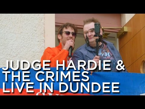 2012-06-02 'Judge Hardie & The Crimes' @ 'The Ron Bonar Beer Festival '12', Fisherman's Tavern, Brou