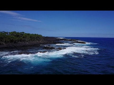 Surf Fishing Hawaii And Drone Footage Youtube