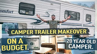 Remodeling a Camper Trailer on the budget