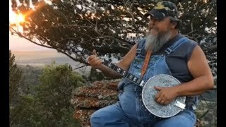 "Neal James - ""The Banjo Man"" singing Home on the Range"