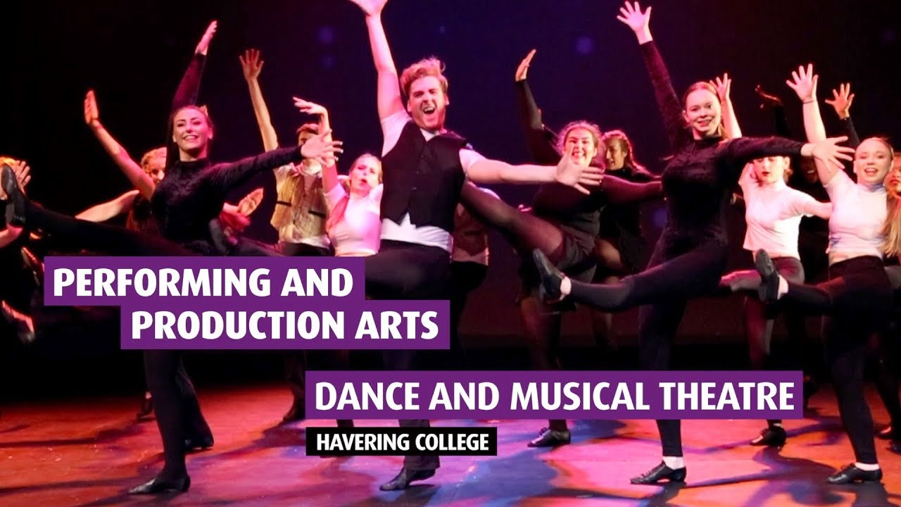 Performing Production Arts Dance And Musical Theatre Youtube