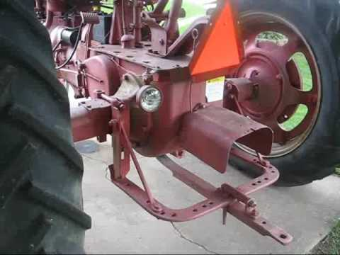international harvester IH FARMALL M TRACTOR  YouTube