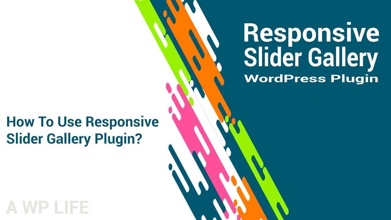 Responsive Slider Gallery – Image Slideshow Maker – WordPress plugin