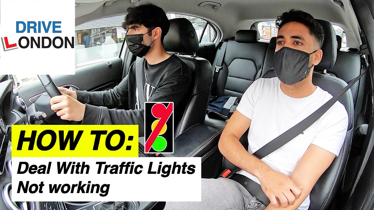 How to:  A Deal with Traffic Light Crossroad Where the Lights are Not Working.