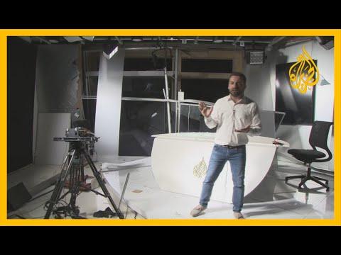 ???? الانفجار الضخم.. مراسل الجزيرة ينقل صورة من الدمار الذي لحق بمكتب الجزيرة جراء انفجار بيروت  - نشر قبل 7 ساعة