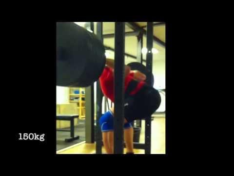Back Squat 150kg - Pause Squat 140kg