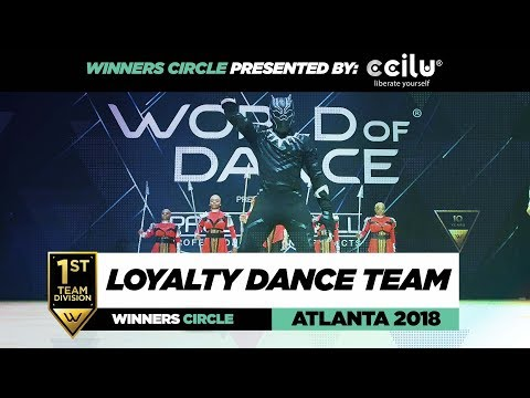 Loyalty Dance Team | 1st Place Team Div | Winners Circle | W