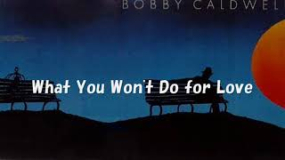 Bobby Caldwell  / What You Won't Do for Love [with Lyrics]