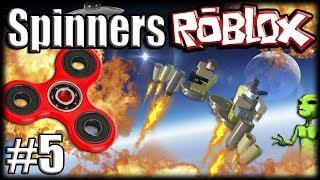 FIDGET SPINNERS no ROBLOX Metalworks - Ep 5 - Voando Para o Espaéo Transzendental